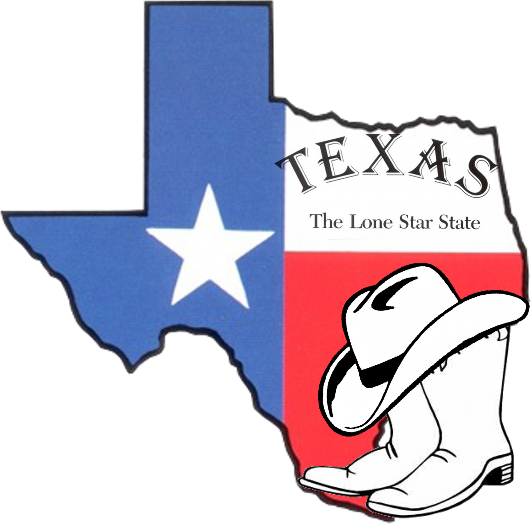 1822x1800 Collection Of Free Texas Drawing Independence Day Download On Ui Ex