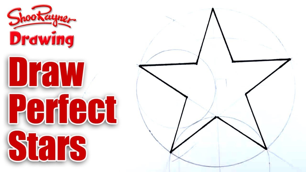 1280x720 How To Draw Perfect Stars