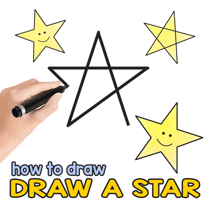 700x700 How To Draw A Star