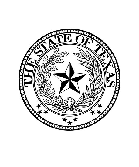 458x550 State Of Texas Official Seal