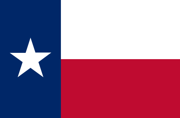 600x393 Texas Map, Population, History, Facts