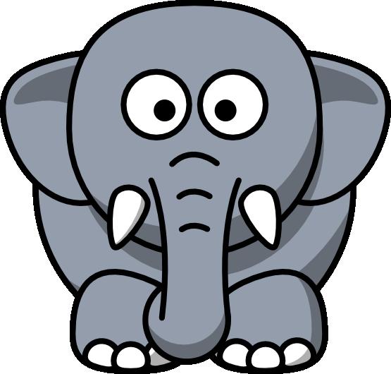 555x530 publishing cartoon elephant, cute