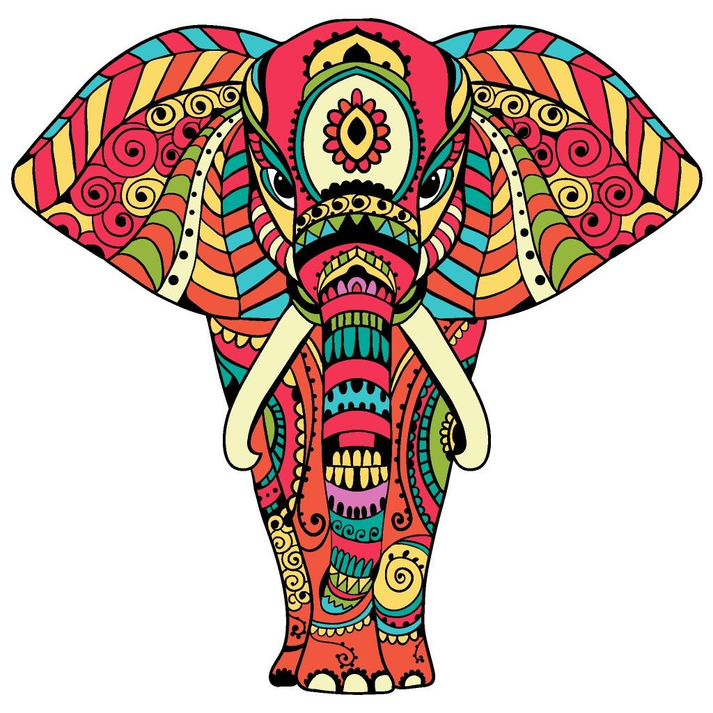 Thai Elephant Drawing   Free download on ClipArtMag