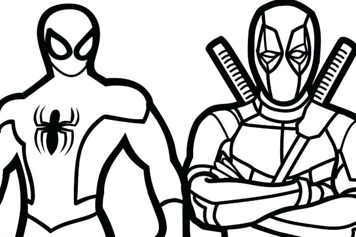 728x485 Spiderman Coloring Pages Printable Sheets Venom Book Colouring