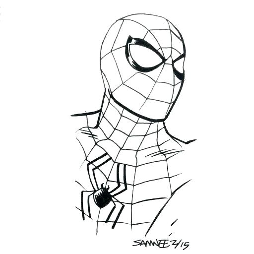512x512 Spiderman Drawing Easy Drawing Spider Man Logo Spiderman