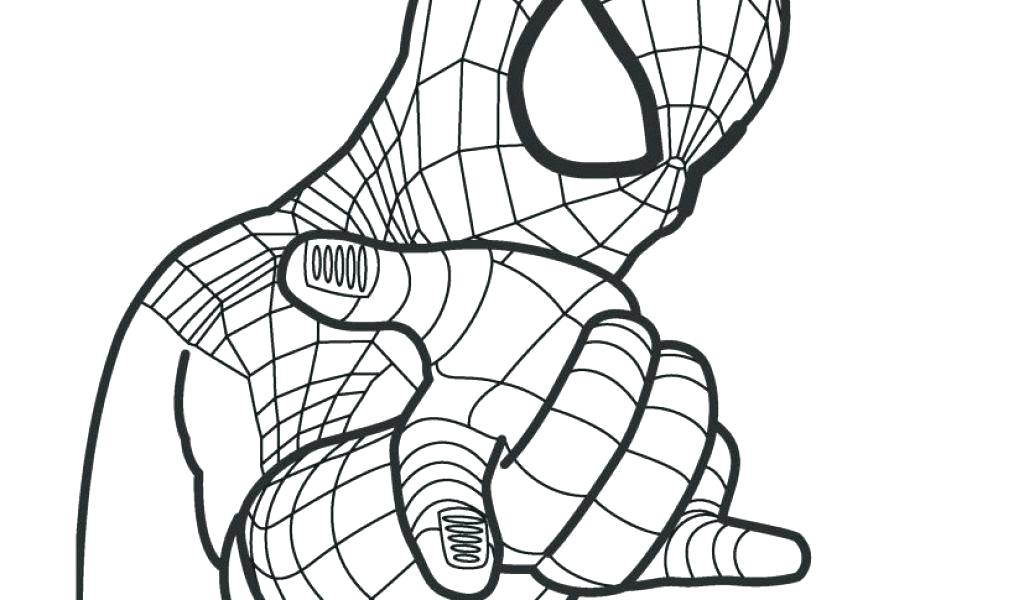 1024x600 The Amazing Spider Man Coloring Pages To Print Pictures Ilovez