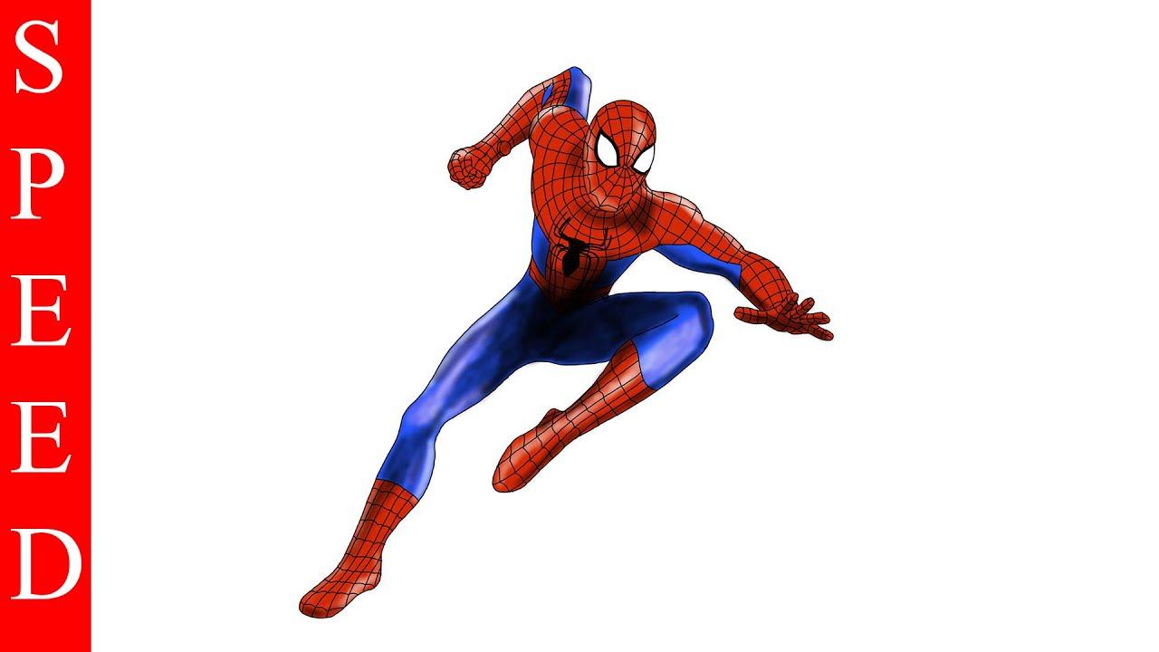 1280x720 Ipad Pro, Speed Drawing The Amazing Spider Man