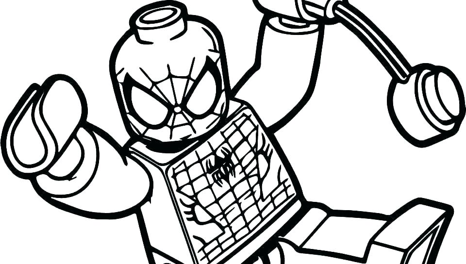 960x544 Coloring Pictures Of Spiderman Pages Printable Spider Man