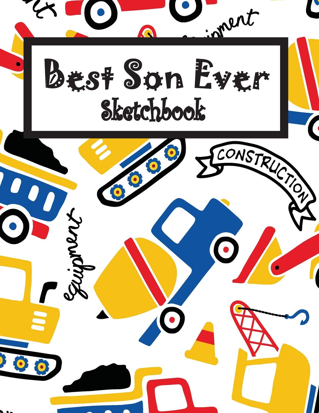 1051x1360 Best Son Ever Children Sketch Book For Drawing Practice, Art