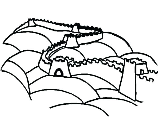600x446 wall e coloring pages wall e color pages great wall of china