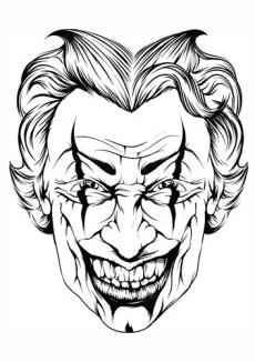 230x326 Joker Face Tattoos Lovetoknow