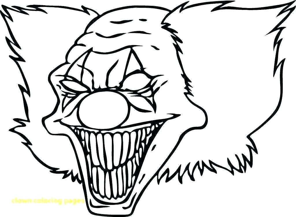 1024x751 scary faces to draw scary face drawing scary faces drawing easy