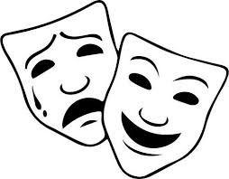 254x198 image result for drama masks drawing masks drama masks, comedy