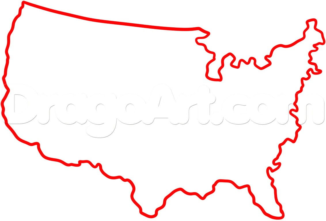 1132x768 united states map drawing valid awesome uinited states map little