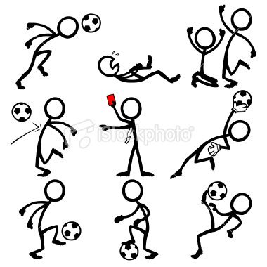 380x380 Stick Figure Peoples Playing Soccer Visual Thinking Stick