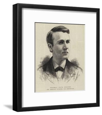 397x450 beautiful thomas edison framed posters artwork for sale, posters