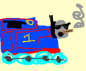 Thomas The Tank Engine Drawing
