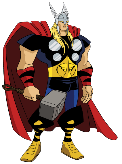 424x569 Collection Of Free Thor Clipart Hammer Cartoon Amusement