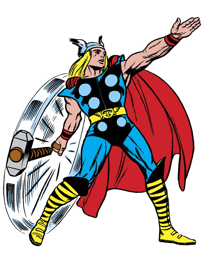850x1024 Thor Cartoon Cliparts