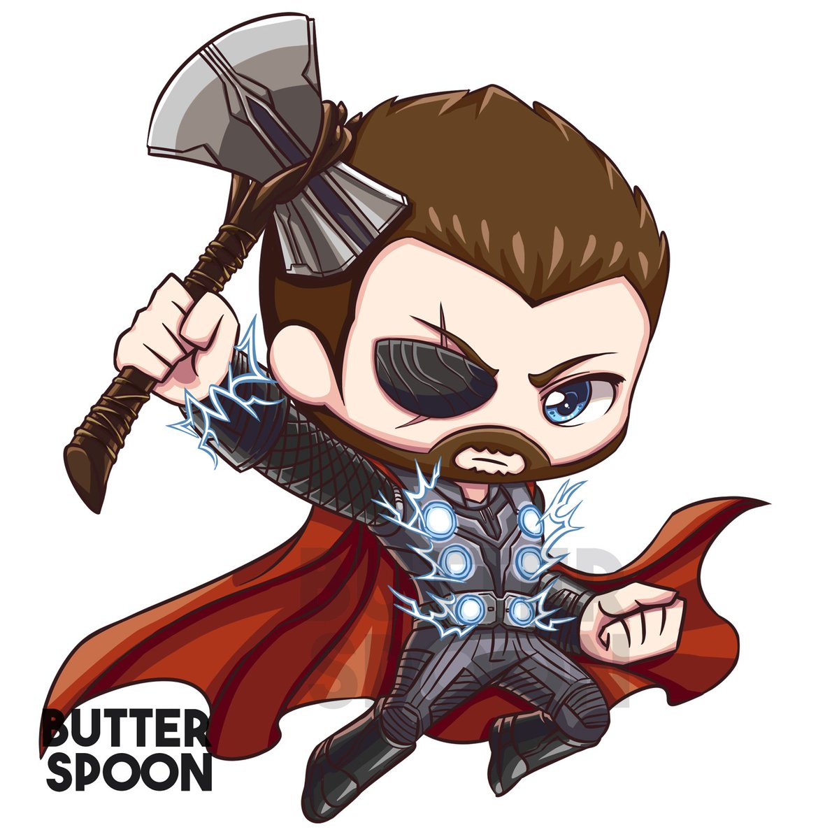 1200x1200 Butterspoon On Twitter Thor From Marvel Series
