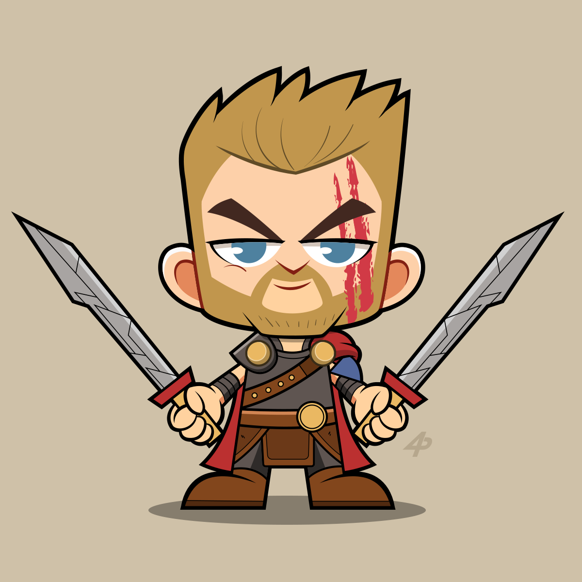 1200x1200 Chibi Thor Ragnarok Chibi Chibi, Thor, Cartoon Drawings