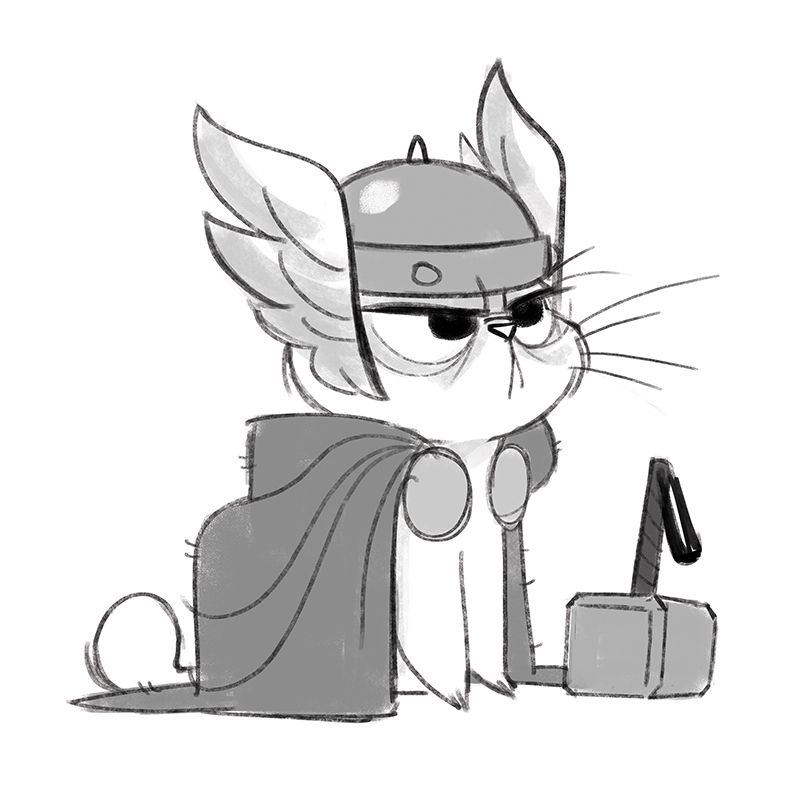 800x800 Thor Catwhile I'm On The Comic Con Kick Here Is A Thor Kitty