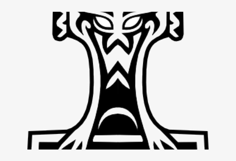 820x561 thor clipart thor's hammer
