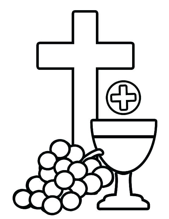 550x712 crosses coloring pages three crosses coloring