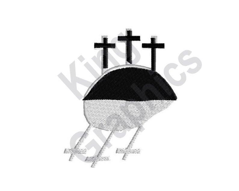 794x635 three crosses machine embroidery design crosses reflection etsy