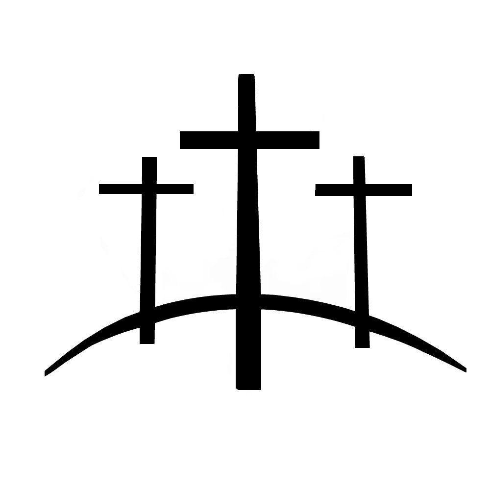 1000x1000 calvary hill tattoo three crosses on a hill tattoo tatoos
