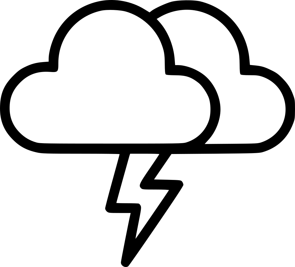 Thunder And Lightning Drawing | Free download best Thunder