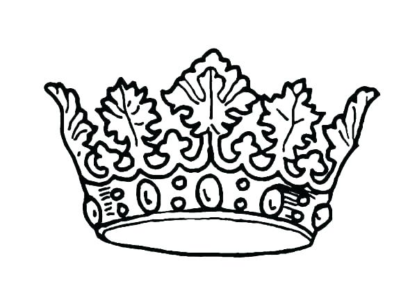 600x425 Coloring Pages Of Crowns Tiara Coloring