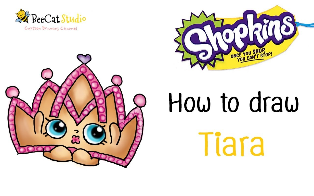 1280x800 drawing of a tiara how to draw shopkins fashion spree tiara
