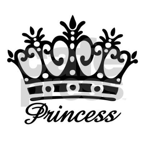 460x460 Princess Crown Clip Art Black And White Traditional Ideas
