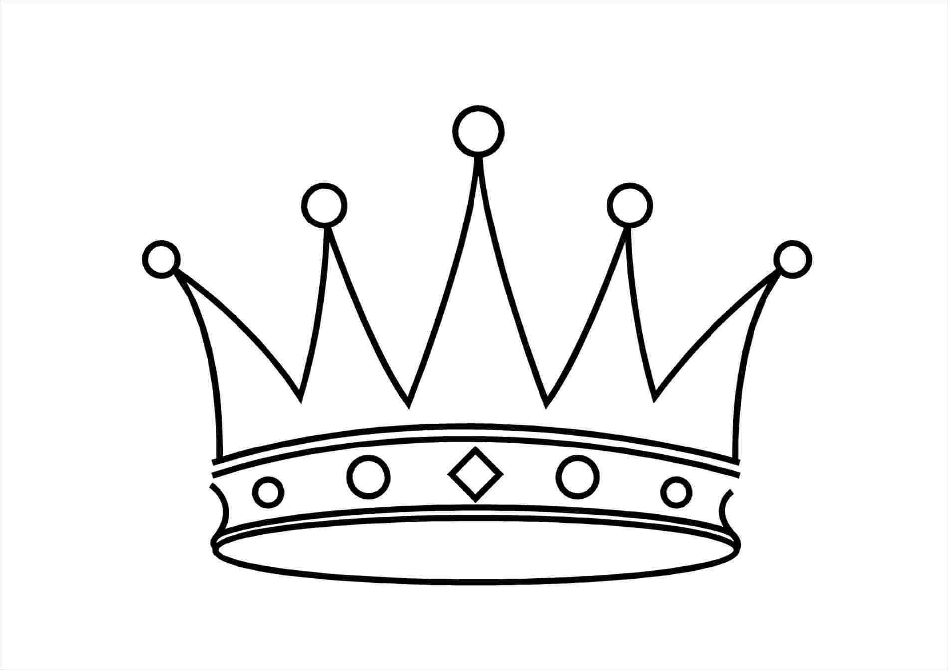 1900x1343 Tiara Drawing To Draw A Crown In Steps Learn