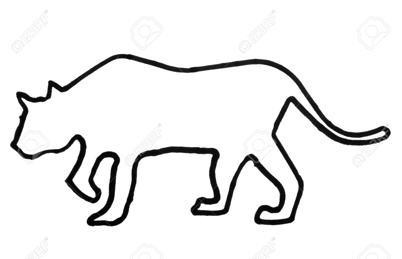 1300x836 Tiger Outline Free Coloring Pages On Art Coloring Pages