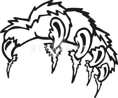 400x331 Tigger Outline Tiger Lily Outline Clipart