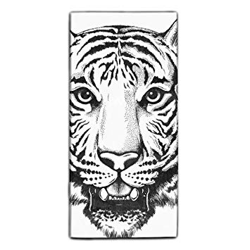 Tiger Head Drawing Easy