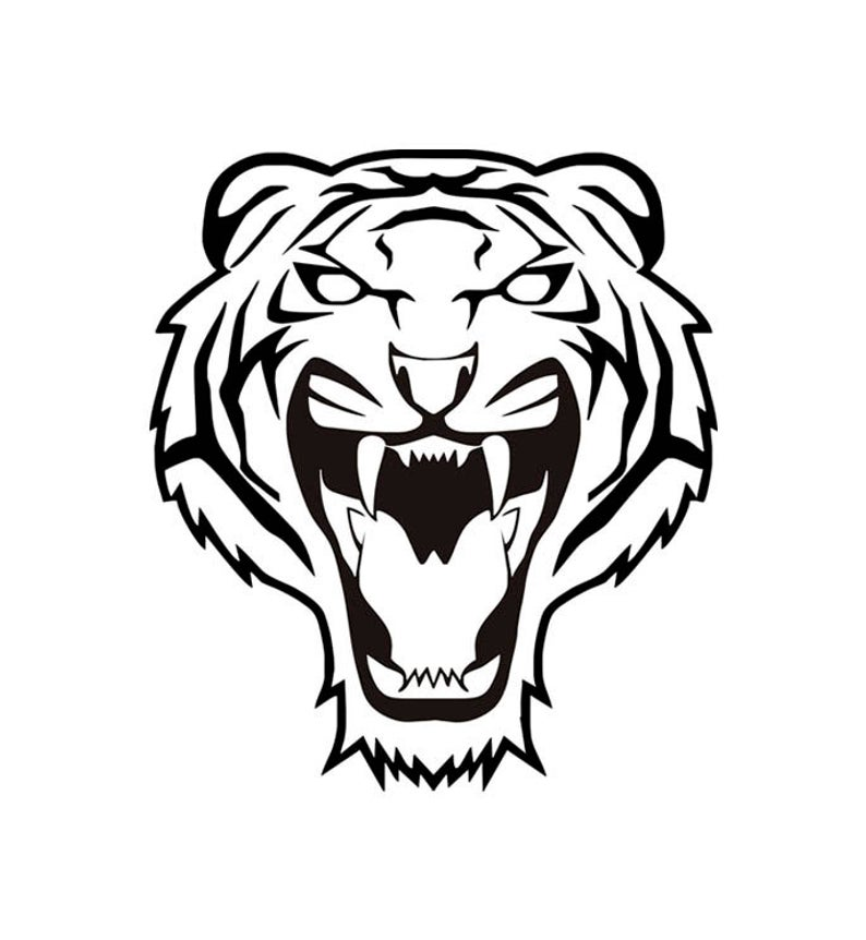 794x862 tiger tiger head tiger clipart tiger head etsy