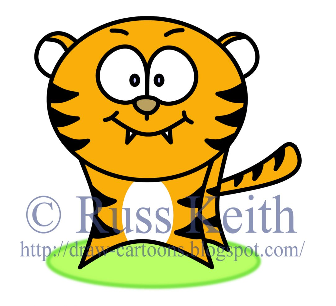 1084x988 How To Draw A Tiger Paw Print For Kids Face Easy Step