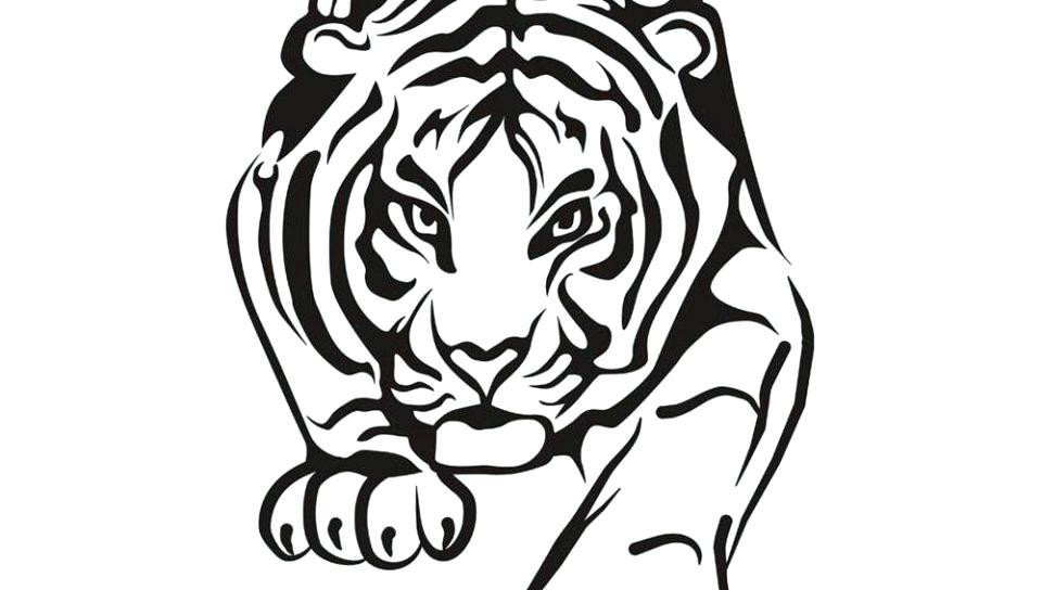960x544 How To Draw A Clemson Tiger Paw Clemson Tiger Paw Coloring
