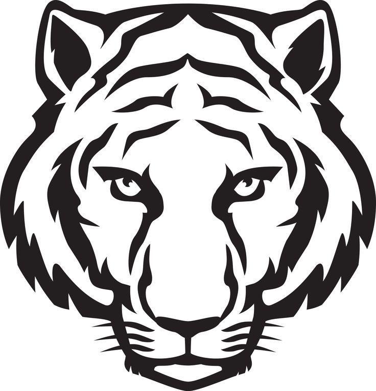 736x765 Clip Art Tiger Drawing, Tiger Face