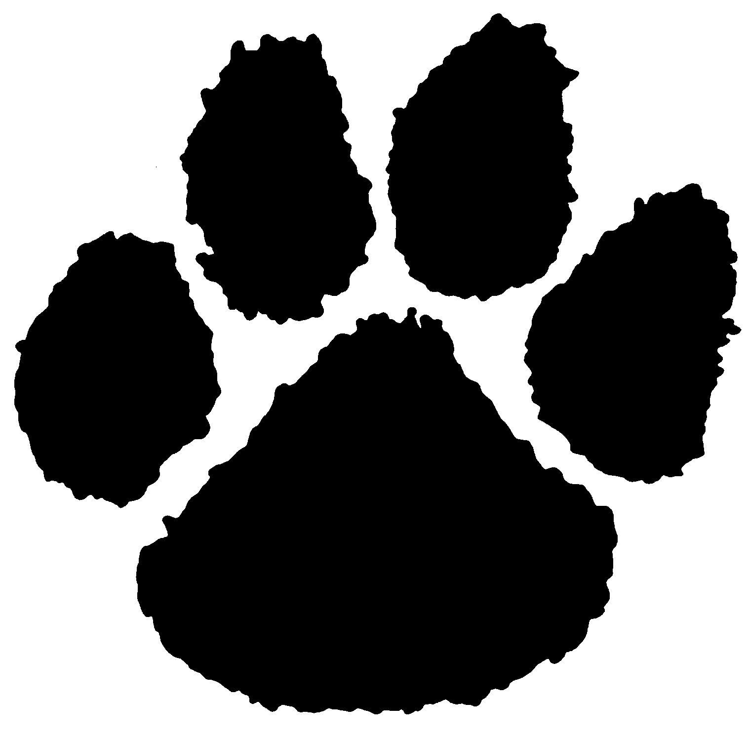 1515x1500 Bear Paw Stencils Tiger Paw Print Stencil Bear Paw Drawing