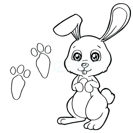 450x450 Coloring Pages Of Tiger Paw Prints
