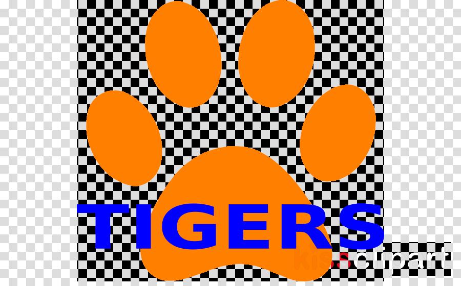 900x560 Download Tiger Paw Prints Clipart Tiger Drawing Clip Art
