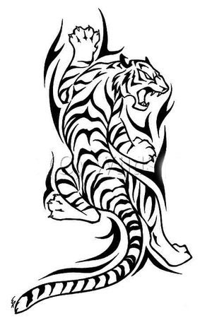 300x467 tiger tattoo designs tiger tattoo designs lokesh tattoo artist