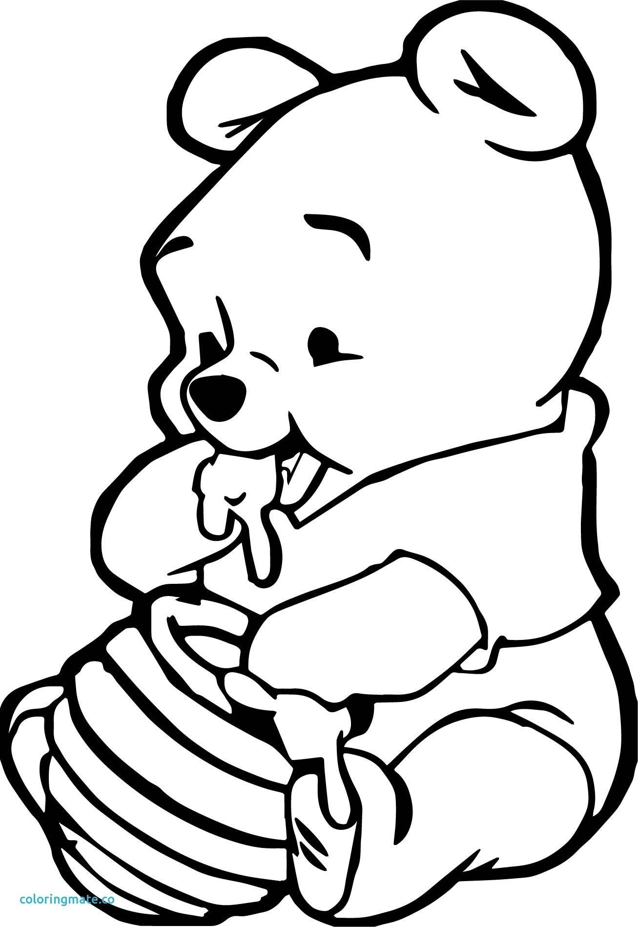 1307x1899 Tigger And Pooh Coloring Pages With Heart
