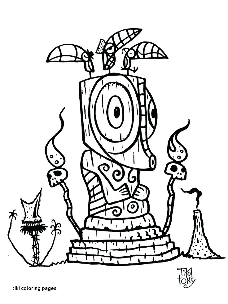 736x981 tiki coloring pages best tattoo images on for coloring pages tiki