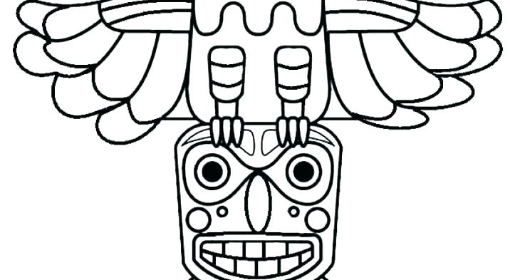 716x393 tiki coloring pages coloring pages tiki totem coloring pages