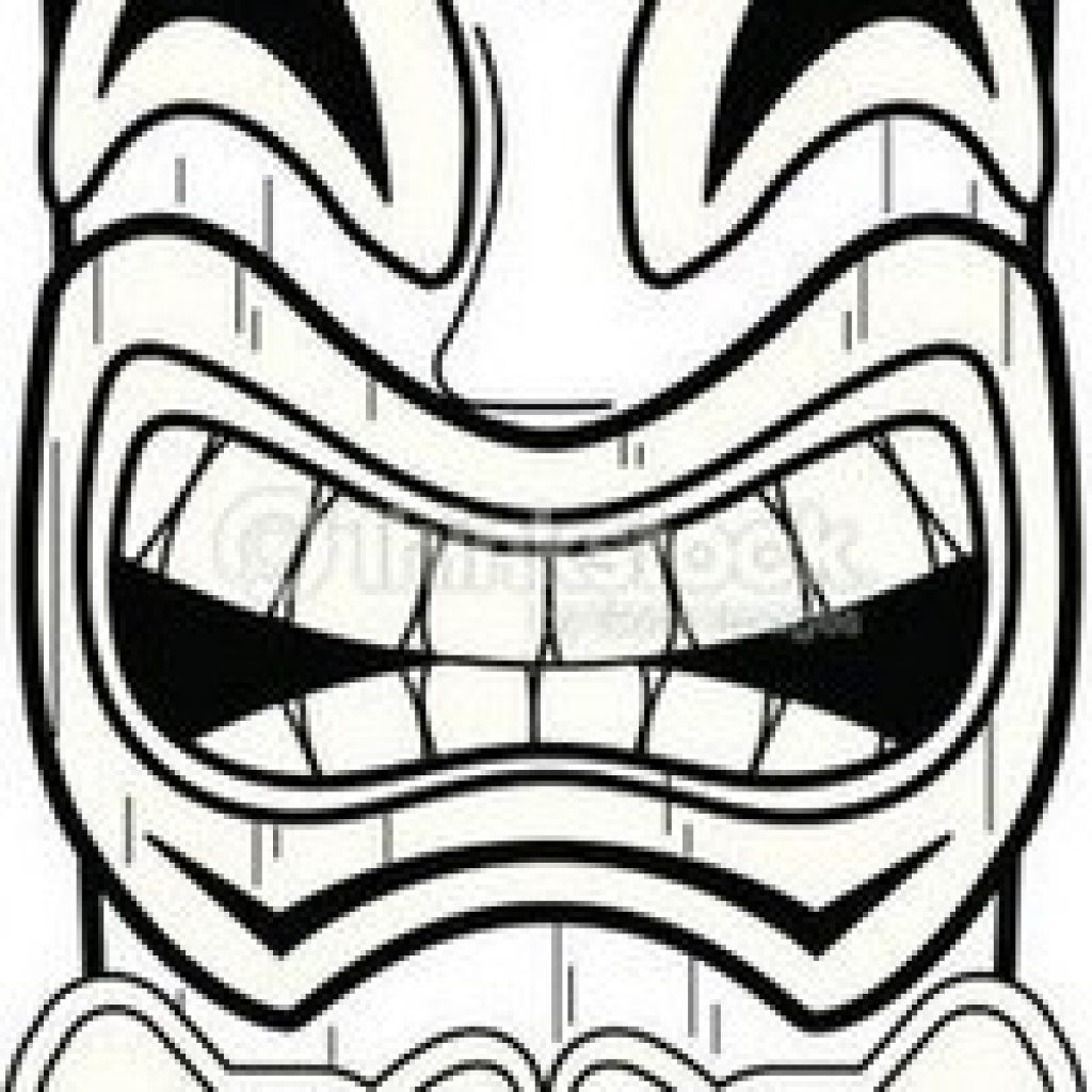 graphic relating to Tiki Mask Printable identify Tiki Mask Drawing Cost-free down load great Tiki Mask Drawing upon
